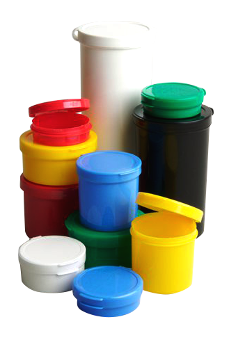 Poly Cons Small Plastic Containers with Lids